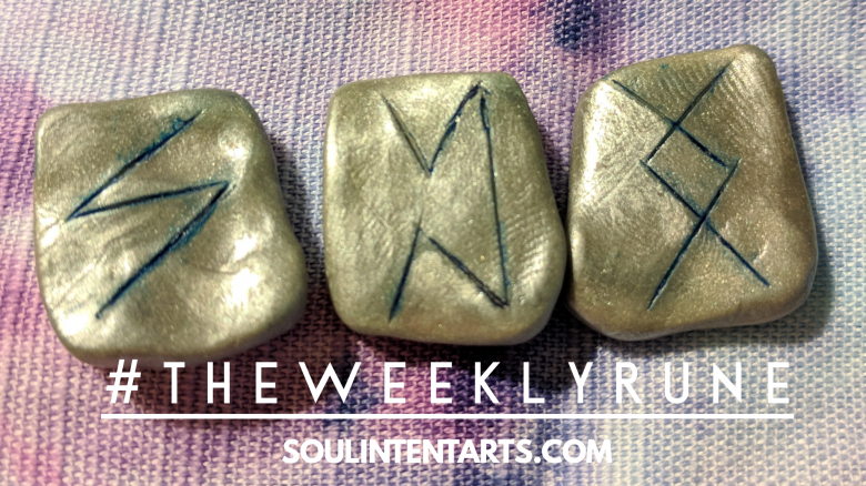 The Weekly Rune, cast for 13 May 2018 on Intentional Insights- by S. Kelley Harrell, Soul Intent Arts #theweeklyrune