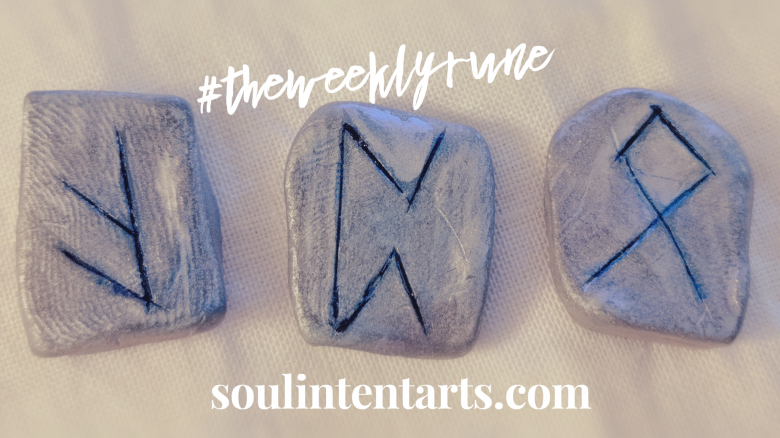 The Weekly Rune, cast for 27 May 2018 on Intentional Insights- by S. Kelley Harrell, Soul Intent Arts #theweeklyrune