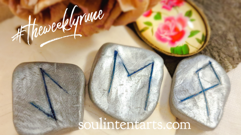 The Weekly Rune, cast for 10 June 2018 on Intentional Insights- by S. Kelley Harrell, Soul Intent Arts #theweeklyrune