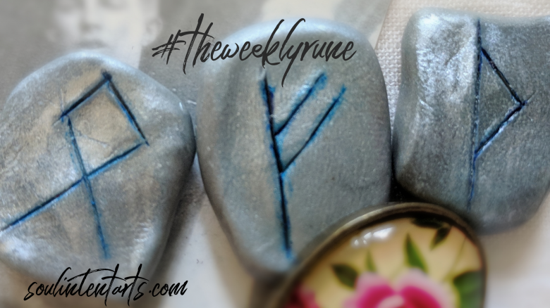 The Weekly Rune, cast for 29 July 2018 on Intentional Insights- by S. Kelley Harrell, Soul Intent Arts #theweeklyrune