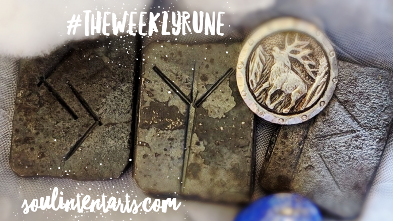 The Weekly Rune, cast for 2 September 2018 on Intentional Insights- by S. Kelley Harrell, Soul Intent Arts #theweeklyrune