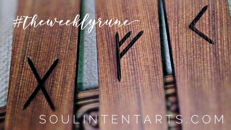 The Weekly Rune, cast for 16 September 2018 on Intentional Insights- by S. Kelley Harrell, Soul Intent Arts #theweeklyrune