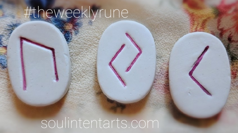 The Weekly Rune, cast for 23 September 2018 on Intentional Insights- by S. Kelley Harrell, Soul Intent Arts #theweeklyrune