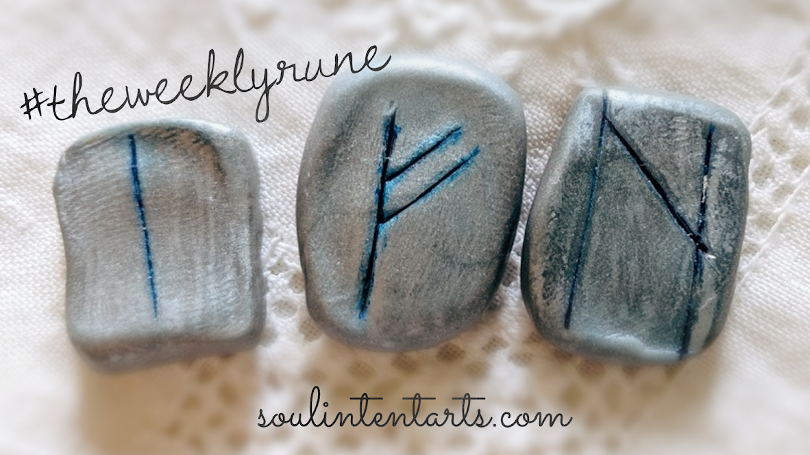 The Weekly Rune, cast for 28 October 2018 on Intentional Insights- by S. Kelley Harrell, Soul Intent Arts #theweeklyrune