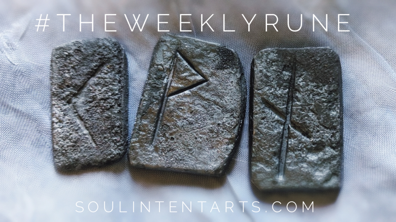 The Weekly Rune, cast for 11 November 2018 on Intentional Insights- by S. Kelley Harrell, Soul Intent Arts #theweeklyrune