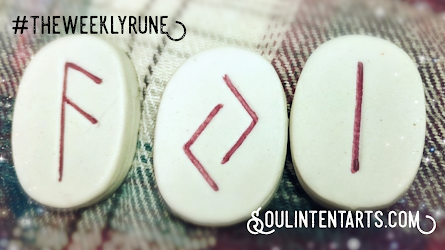 The Weekly Rune, cast for 25 November 2018 on Intentional Insights- by S. Kelley Harrell, Soul Intent Arts #theweeklyrune
