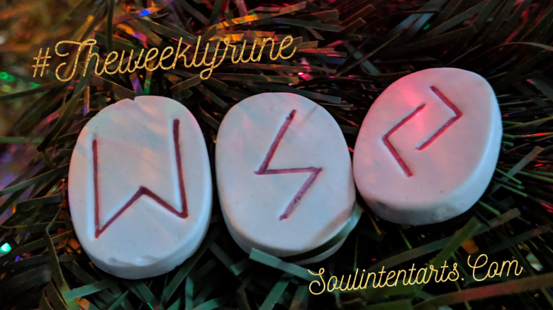 The Weekly Rune, cast for 16 December 2018 on Intentional Insights- by S. Kelley Harrell, Soul Intent Arts #theweeklyrune
