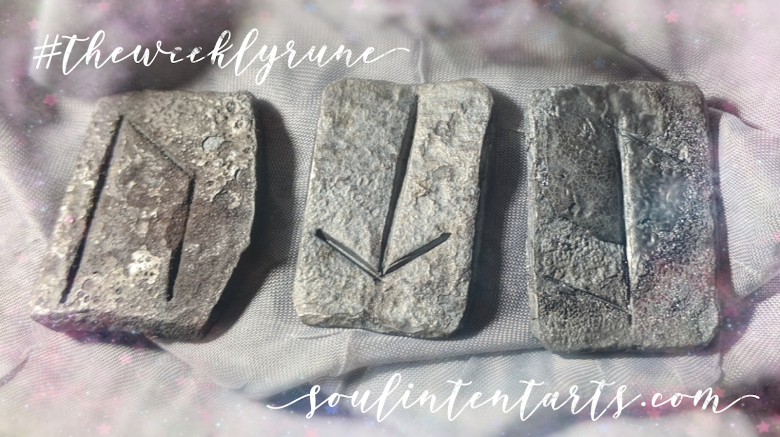 The Weekly Rune, cast for 6 January 2019 on Intentional Insights- by S. Kelley Harrell, Soul Intent Arts #theweeklyrune
