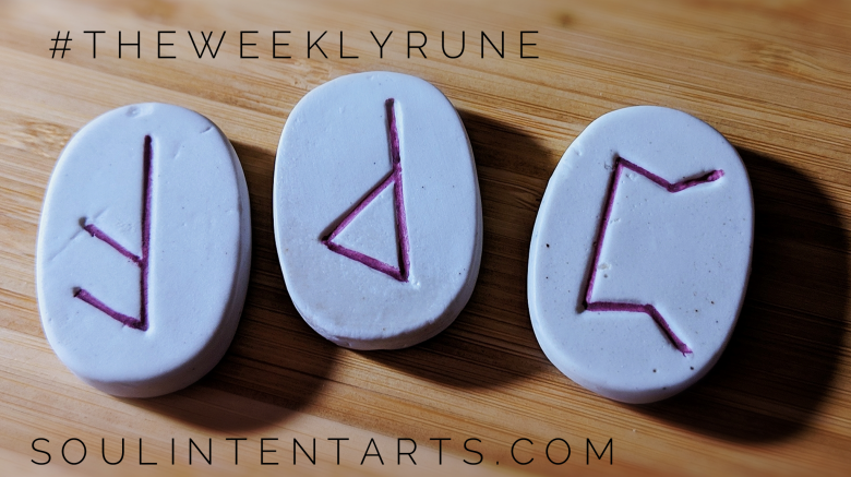 The Weekly Rune, cast for 13 January 2019 on Intentional Insights- by S. Kelley Harrell, Soul Intent Arts #theweeklyrune
