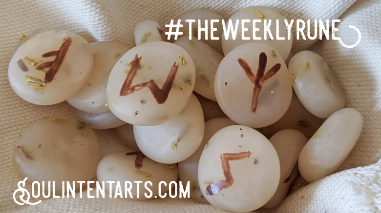 The Weekly Rune, cast for 10 February 2019 on Intentional Insights- by S. Kelley Harrell, Soul Intent Arts #theweeklyrune