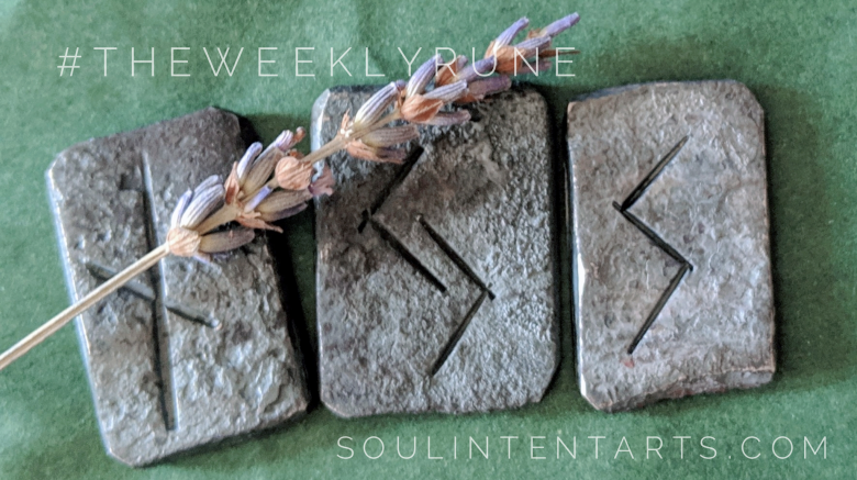 The Weekly Rune, cast for 17 February 2019 on Intentional Insights- by S. Kelley Harrell, Soul Intent Arts #theweeklyrune