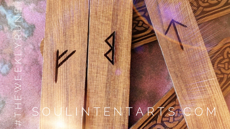 The Weekly Rune, cast for 3 March 2019 on Intentional Insights- by S. Kelley Harrell, Soul Intent Arts #theweeklyrune