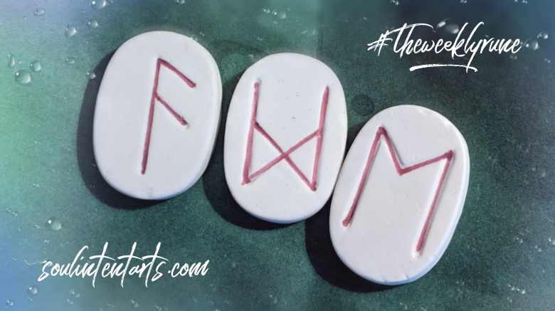 The Weekly Rune, cast for 7 April 2019 on Intentional Insights- by S. Kelley Harrell, Soul Intent Arts #theweeklyrune