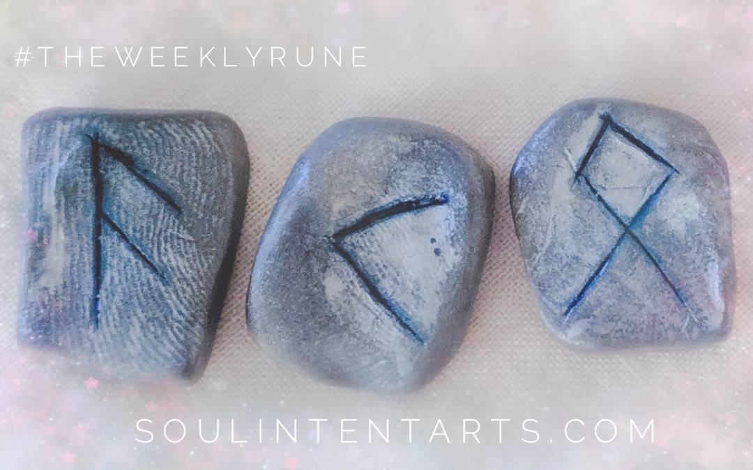 The Weekly Rune, cast for 9 June 2019 on Intentional Insights- by S. Kelley Harrell, Soul Intent Arts #theweeklyrune