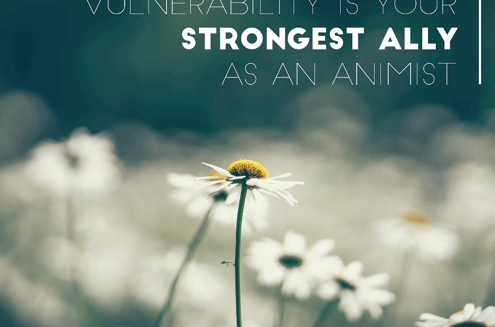 vulnerability is your strongest ally - S. Kelley Harrell