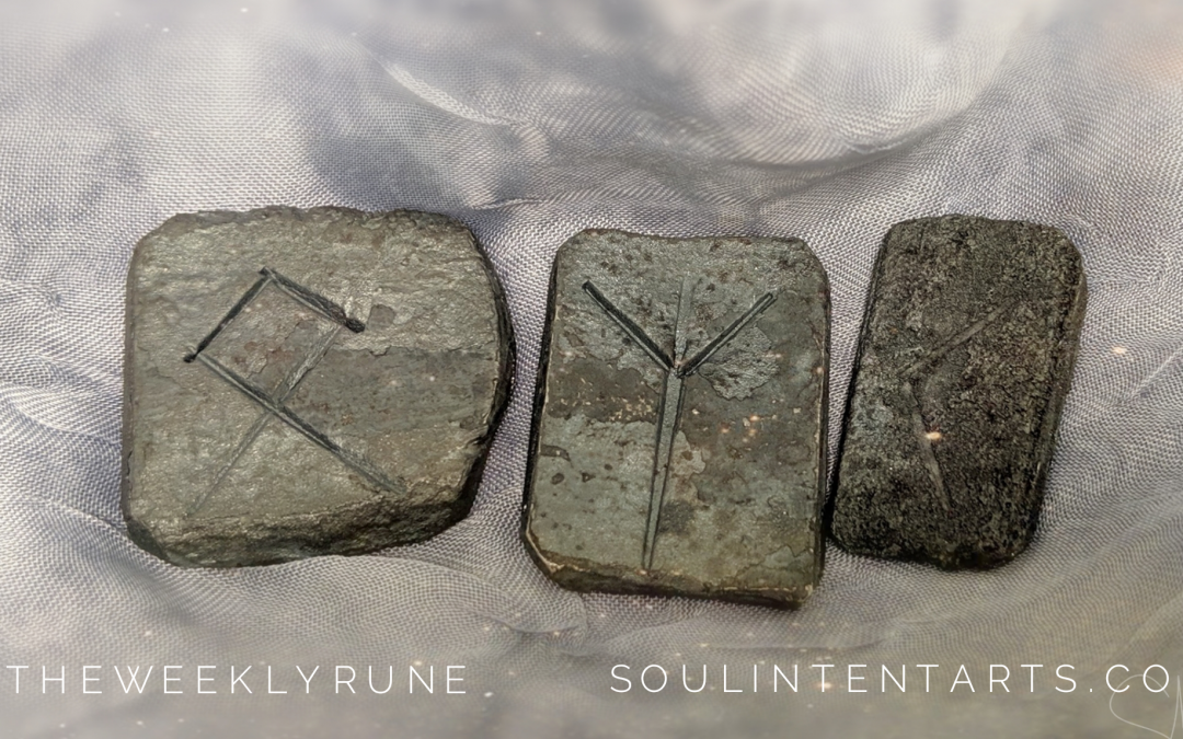 The Weekly Rune, cast for 15 September 2019 on Intentional Insights- by S. Kelley Harrell, Soul Intent Arts #theweeklyrune