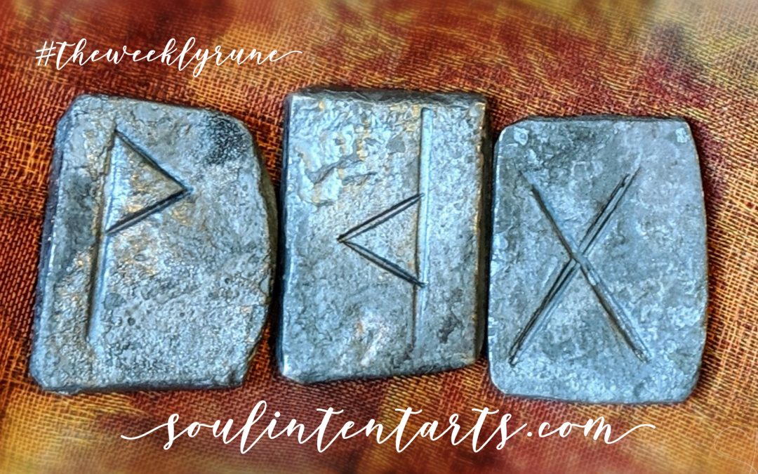 The Weekly Rune, cast for 29 September 2019 on Intentional Insights- by S. Kelley Harrell, Soul Intent Arts #theweeklyrune