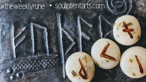 The Weekly Rune, cast for 24 November 2019 on Intentional Insights- by S. Kelley Harrell, Soul Intent Arts #theweeklyrune