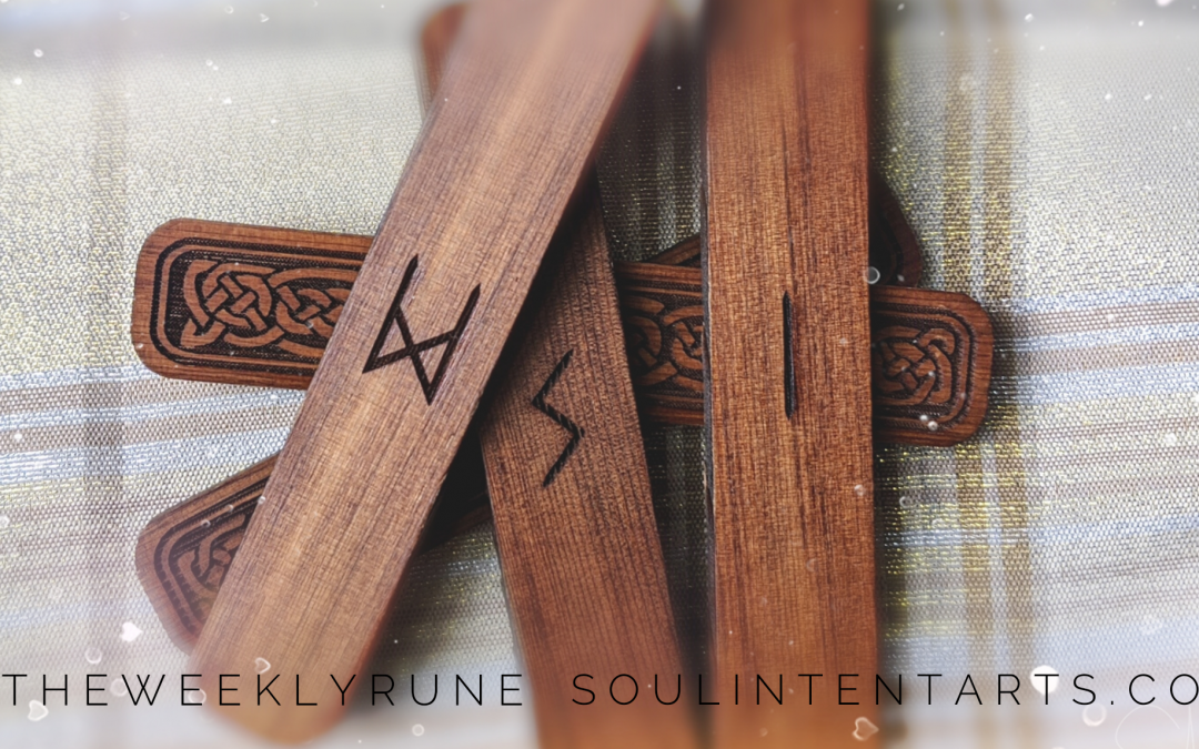 The Weekly Rune, cast for 8 December 2019 on Intentional Insights- by S. Kelley Harrell, Soul Intent Arts #theweeklyrune