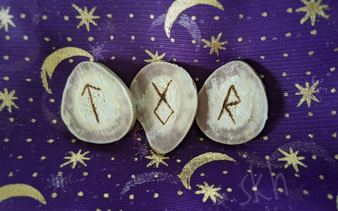The Weekly Runecast for 30 August 2020 on Intentional Insights- by S. Kelley Harrell, Soul Intent Arts #theweeklyrune